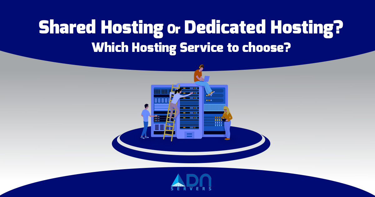 Shared Hosting Or Dedicated Hosting